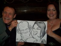 Thorton Manor Caricature Artist